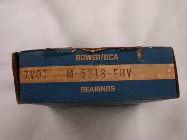 FEDERAL MOGUL BOWER/BCA BEARINGS M-5218-EHV  **NEW**  OEM