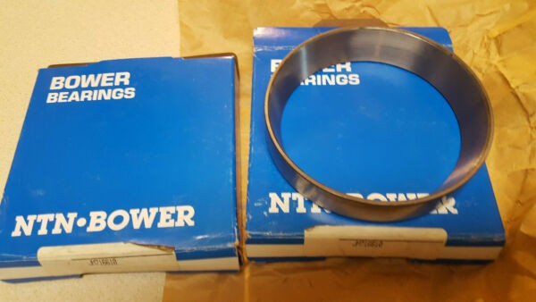 2 New Bower JM716610 tapered bearing cups - OD of cup is 5 1/8