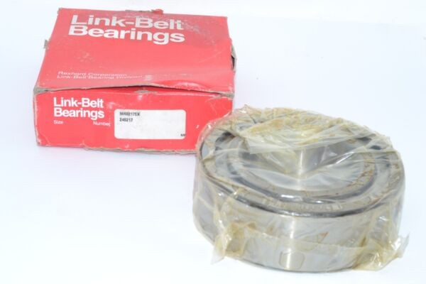 NEW Link-Belt (Rexnord) MR5217EX Cylindrical Roller Bearing - Straight, 85 mm ID