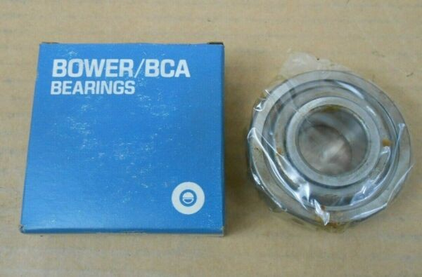 NIB BOWER 8605 DEEP GROOVE BALL BEARING 25MM X 62MM X 21MM SINGLE SEAL (6 AVAIL)