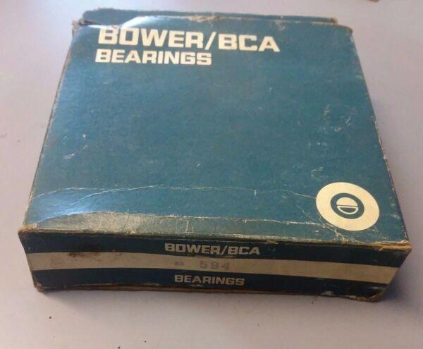 Bower/BCA Bearing 594 Tapered Roller Bearing