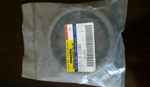 KOMATSU 07012-00080 Kalmar AC Drive Steer Axle Oil Seal New OEM ForkLift GENUINE