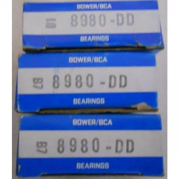 New NIB (surplus old stock) Lot of 1 Bearings Bower / BCA B7 8980-DD
