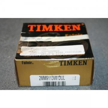 Fafnir Timken 2MM9113.WI.DUL Super Precision Bearings (7013 CDP4A DGA) * NEW