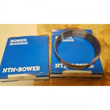 """2 New Bower JM716610 tapered bearing cups - OD of cup is 5 1/8"""""""