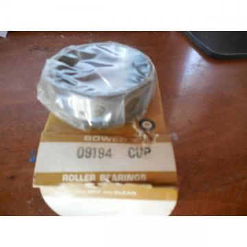 NOS Bower Roller Bearing 09194 CUP