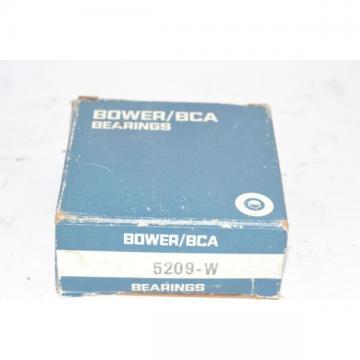 NEW Bower BCA Bearing 5209W 5209-W