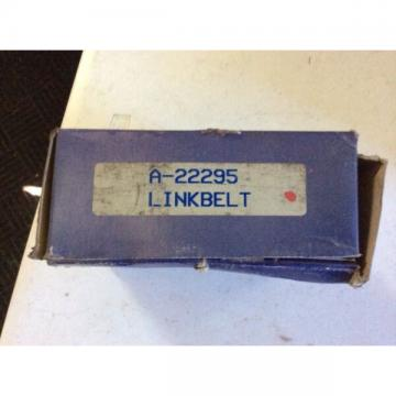LinkBelt bearing A-22295, new old stock in box, free shipping, 30day warranty