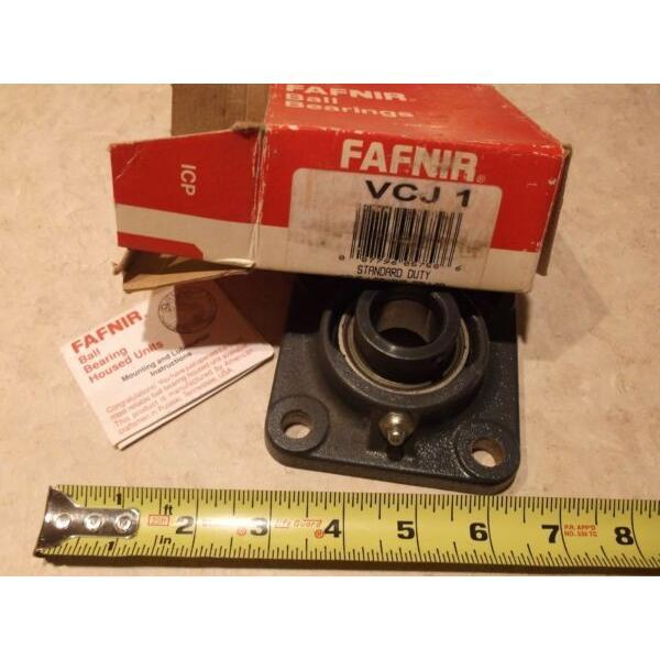 "Fafnir VCJ 1 Bearing 4 Bolt Flange 1"" DIA #1 image"