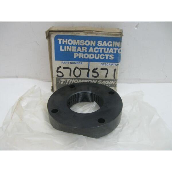 Thomson Industries 5707571 Flange/Bushing Bearing 38MM Bore 82MM OD New #1 image